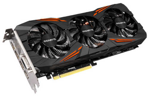 Gigabyte N1070G1-GAMING-8GD GTX 1070  G1 Gaming 8GB GDDR5 256-bit, DVI, HDMI, DisplayPort