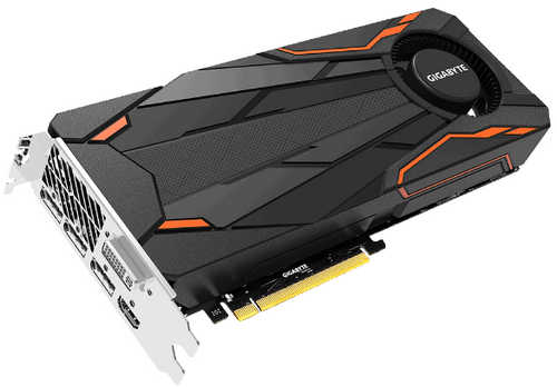 Gigabyte N1080TTOC-8GD GTX 1080 Turbo OC 8GB GDDR5 256-bit, up to 1797MHz in OC mode