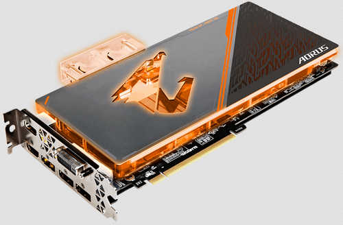 Gigabyte N108TAORUS-X-WB-11GD AORUS GTX 1080 Ti Waterforce WB Xtreme Edition 11GB GDDR5X 352-bit, DVI, HDMI, DisplayPort