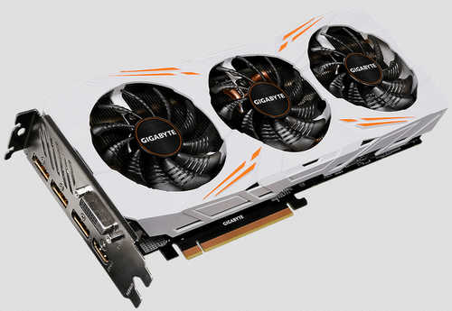 Gigabyte N108TGAMING-OC-11GD GTX 1080 Ti Gaming OC 11GB GDDR5X 352-bit, DVI, HDMI, DisplayPort