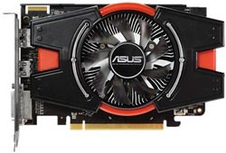 ASUS R7250X-1GD5 R7 250X 1GB DDR5 128-bit, DVI, HDMI, DisplayPort