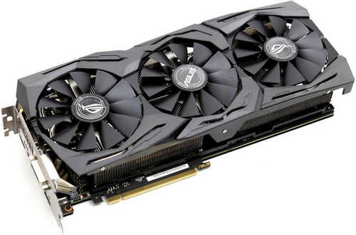 ASUS ROG-STRIX-GTX1070TI-A8G-GAMING ROG Strix GTX 1070 Ti Advanced edition 8GB GDDR5 256-bit, up to 1759MHz in OC Mode
