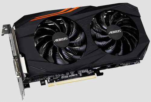 Gigabyte RX580AORUS-8GD AORUS Radeon RX 580 8GB GDDR5 256-bit, up to 1380MHz in OC mode