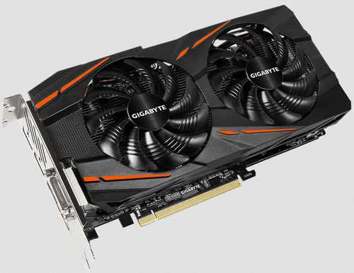 Gigabyte RX570GAMING-4GD AMD, RX570, 32 GDDR5, 4 GD, 1 x HDMI, 3 x DP, 1 x DVI-D