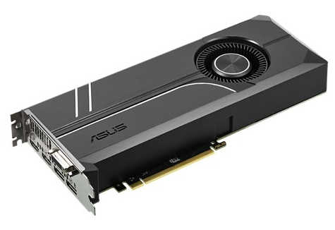ASUS TURBO-GTX1080TI-11G GTX 1080 TI 11GB Turbo Edition GDDR5 352-bit, HDMI, DisplayPort