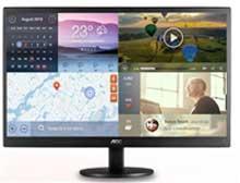 "19.5"" AOC e2070Swn 5ms ultra-high Dynamic Contrast Ratio LED Monitor"