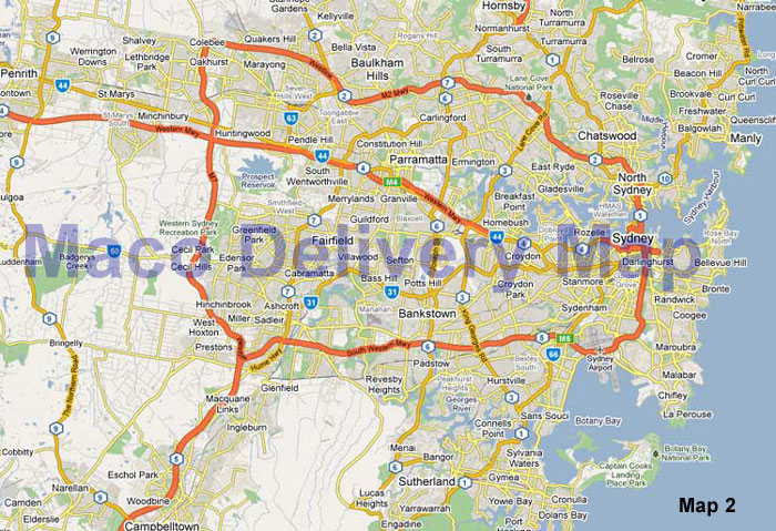 Maco Technology Online Store :: Delivery Area