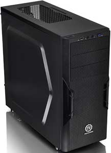 Thermaltake Versa H22 USB 3.0 Black Mid Tower Case with 500W PSU