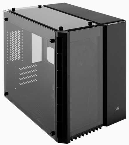 Corsair Crystal Series 280X Tempered Glass Micro ATX Case with Side Window Panel