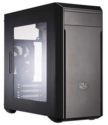 Coolermaster MasterBox Lite 3 USB3.0 Tower Case With 500W PSU, Side Window Panel