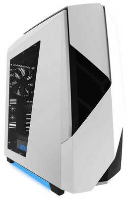 NZXT Noctis 450 White Tower Gaming Case with Side Window Panel