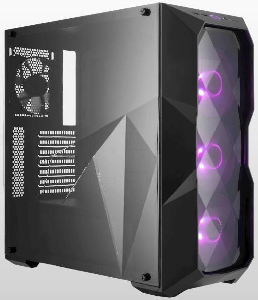 Coolermaster MasterBox TD500 Tower Case with Side Window Panel