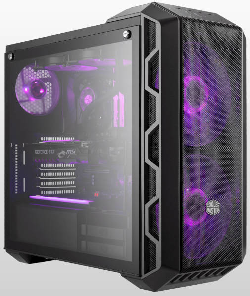 Coolermaster MasterCase H500 Tower Case with Side Window Panel