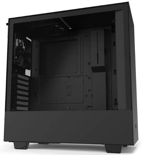 NZXT H510 Black ATX Tower Case with Tempered Glass Side Window Panel