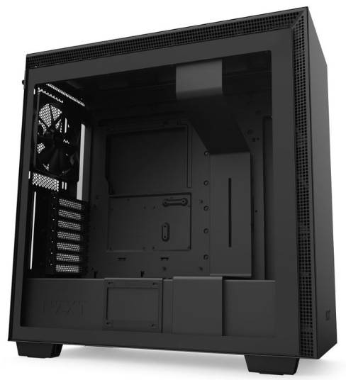 NZXT H710 Black ATX Tower Case with Tempered Glass Side Window Panel