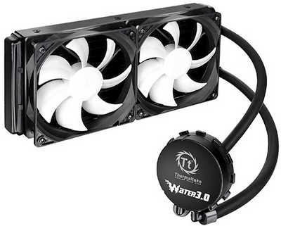 Thermaltake Water 3.0 Extreme S Enclosed Liquid Cooling System Universal Socket CPU Cooler