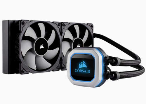 Corsair Cooling Hydro Series H100i Pro RGB Liquid Universal Socket CPU Cooler
