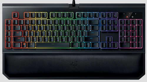 Razer BlackWidow Chroma V2 Mechanical Gaming Keyboard Green Switch