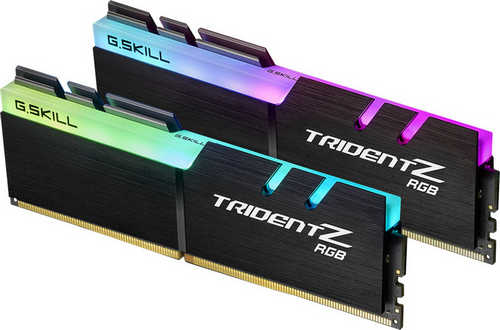 16GB DDR4 G.Skill Trident Z RGB for AMD F4-3600C18D-16GTZR 3600MHz CL18-22-22-42 (2x8GB)