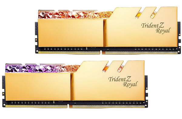 32GB DDR4 G.Skill Trident Z Royal F4-3200C16D-32GTRG 3200MHz CL16-18-18-38 (2x16GB)