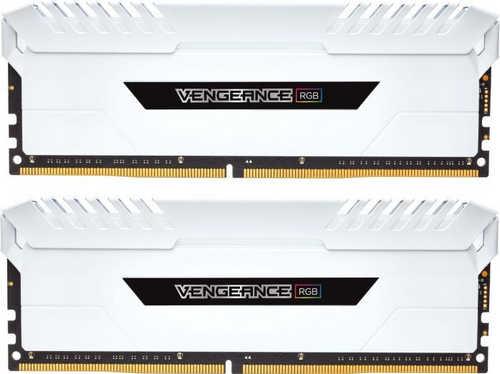 16GB DDR4 Corsair CMR16GX4M2C3000C15W White Vengeance RGB 3000MHz CL15-17-17-35 (2x8GB)