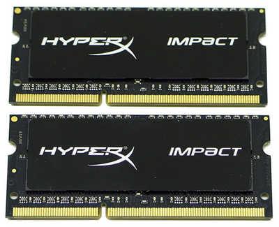 16GB DDR3 Kingston HX318LS11IBK2/16 HyperX Impact 1866MHz CL11 SO-DIMM 204-pin Notebook RAM (2x8GB)