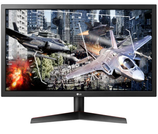 "24"" LG 24GL600F-B 144Hz,1ms 2xHDMI Full HD TN Monitor"