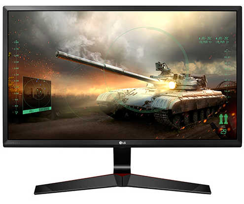 "24"" LG 24MP59G 14ms (typ) 5ms (GTG) with 1ms MBR Mode HDMI, Display Port IPS LED Monitor Built in Speakers"