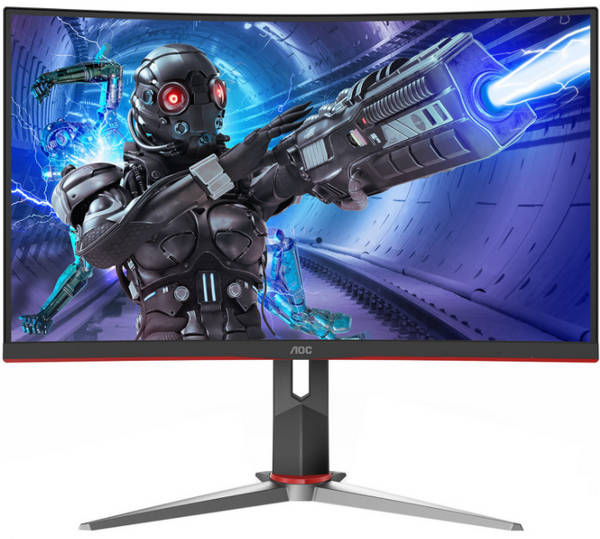 "27"" AOC C27G2 1ms Curved Gaming ultra-smooth Monitor"
