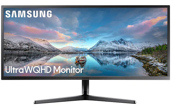 "34"" Samsung LS34J550WQEXXY 4ms Ultra WQHD Monitor with 21:9 Wide Screen"