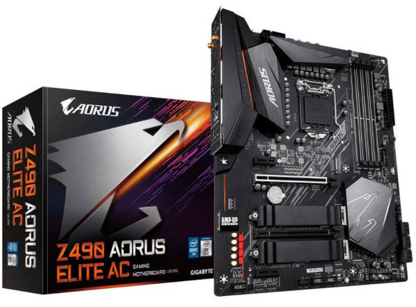 Gigabyte GA-Z490-AORUS-ELITE WiFi Intel 10th LGA1200 Motherboard
