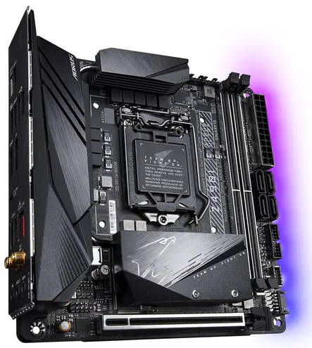 Gigabyte GA-Z490I-AORUS-ULTRA Intel 10th LGA1200 Mini-ITX Motherboard