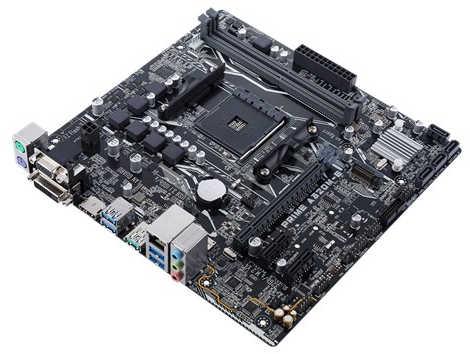 ASUS PRIME-A320M-E Prime A320M-K AMD Ryzen AM4 2xDDR4, PCIE, USB3.1 mATX