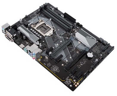 ASUS PRIME-H370-A Intel 8th LGA1151, DDR4, M.2, Int. Graphic, USB3.1