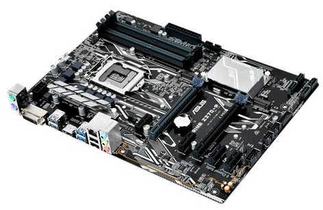 ASUS PRIME-Z270-P Intel Z270 LGA1151, 4xDDR4, PCIE, Int. Graphic, USB3.0