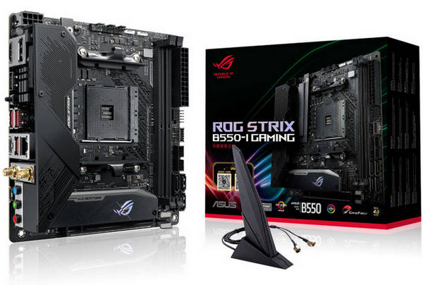 ASUS ROG STRIX B550-I GAMING AMD AM4 Ryzen Mini-ITX Motherboard