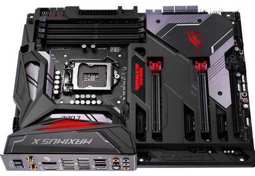 ASUS ROG-MAXIMUS-X-CODE ROG MAXIMUS X CODE Intel Z370 LGA1151, 4xDDR4, PCIE, Int. Graphic, USB3.1