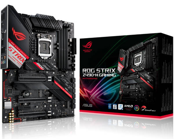 ASUS ROG-STRIX-Z490-H-GAMING Intel 10th LGA1200 Motherboard