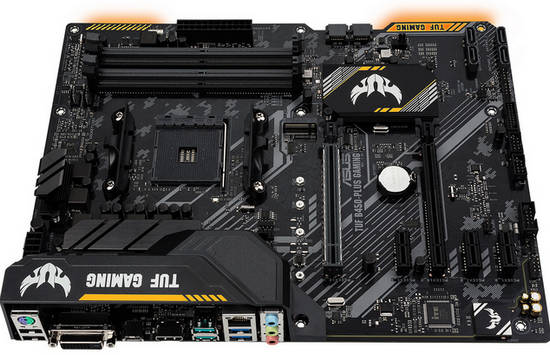 ASUS TUF-B450-PLUS-GAMING AMD AM4, DDR4 up to 4400MHz, M.2, Int. Graphic