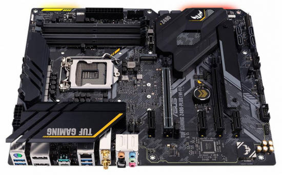 ASUS TUF-GAMING-Z490-PLUS-WI-FI TUF GAMING Z490-PLUS (WI-FI) Intel 10th LGA1200 Motherboard