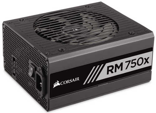 750W Corsair RMx Series RM750x 80 PLUS Gold Modular Cables Management Power Supply