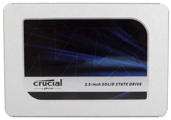 "500GB 2.5"" Crucial CT500MX500SSD1 MX500 SATA III 6.0 Gb/s Solid State Disk (SSD)"