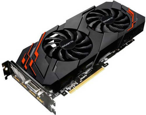 Gigabyte N107TWF2-8GD GTX 1070 Ti WINDFORCE 8GB GDDR5 256-bit, DVI, HDMI, DisplayPort