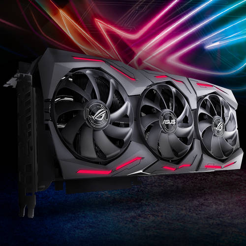 ASUS ROG-STRIX-RTX2080S-O8G-GAMING ROG Strix GeForce RTX 2080 SUPER OC edition 8GB GDDR6 256-bit, GPU Boost Clock up to 1890 MHz