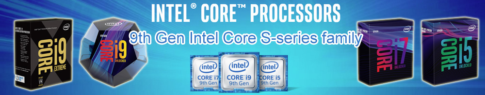 Intel 9th Generation CPU