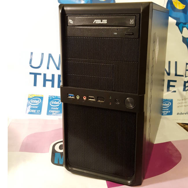 Aywun 210 USB3.0 Black Micro ATX Tower Case with 500W PSU